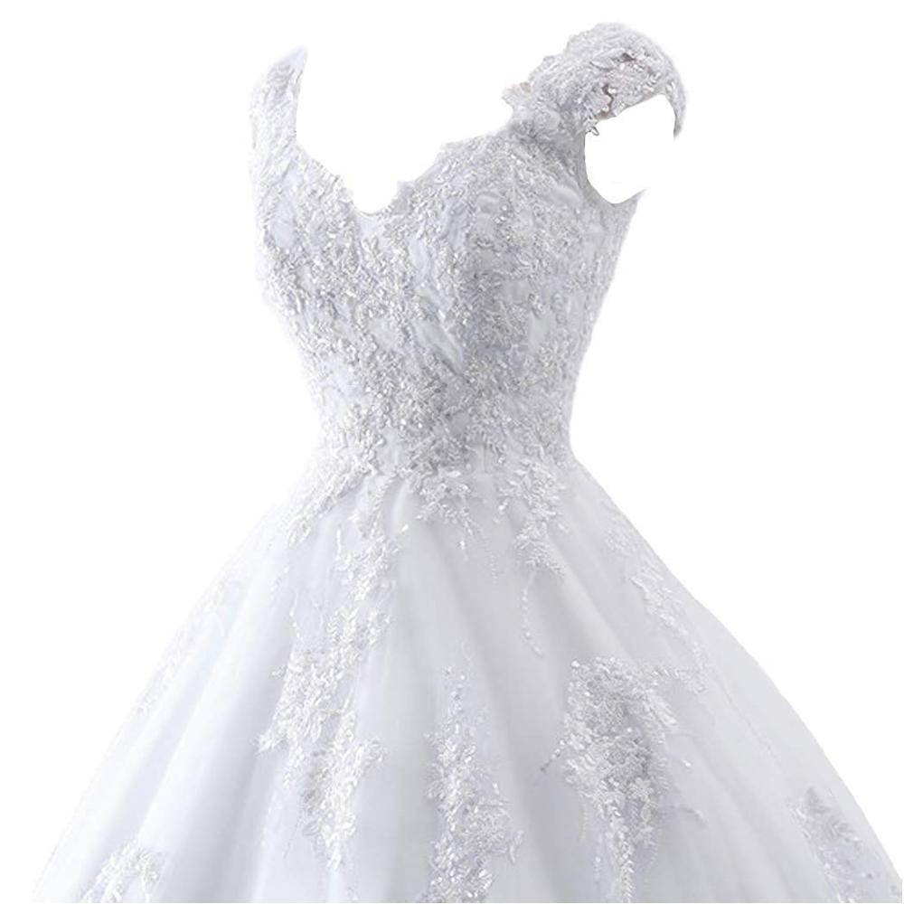 Купить с кэшбэком Custom Noble Ball Gown Russian Wedding Dress Plus Size Simple Ivory Champagne Satin Bridal Wedding Gowns