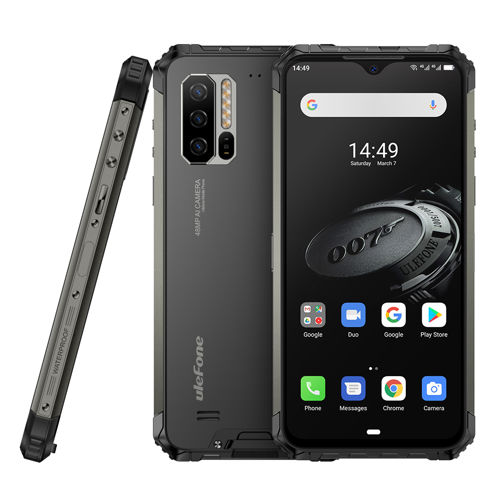 Image 5 - Global Version Ulefone Armor 7E Smartphone 4GB+128GB Rugged Mobile Phone Waterproof IP68 Android 9.0 Octa Core NFC Wireless OTGCellphones   -