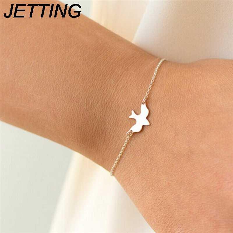 1pc HOT pokoju LovelyDove bransoletka wznieść się latające ptaki mała jaskółka pisklę bransoletka dla dziewczyny moda biżuteria