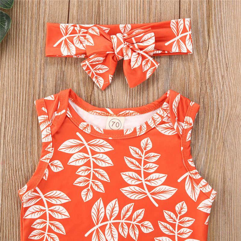 2020 niemowlę dziewczynka chłopiec bawełniane ubrania 0-24M 5 kolorów 3 sztuk letnie stroje dziecko wzburzyć bez rękawów Romper topy + spodenki z wysokim stanem