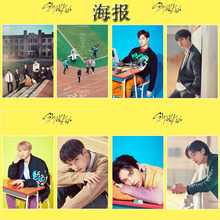 Photo Poster-Stickers Stray Kids Wall-Desk Sticky Print High-Quality for Paste HD Kpop