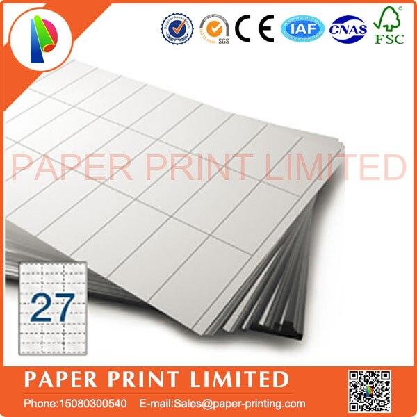 100 листов, этикетки для штрих-кодов Amazon FBA 63,5x29,6 27 этикеток на лист 27-up 63,5 29,6