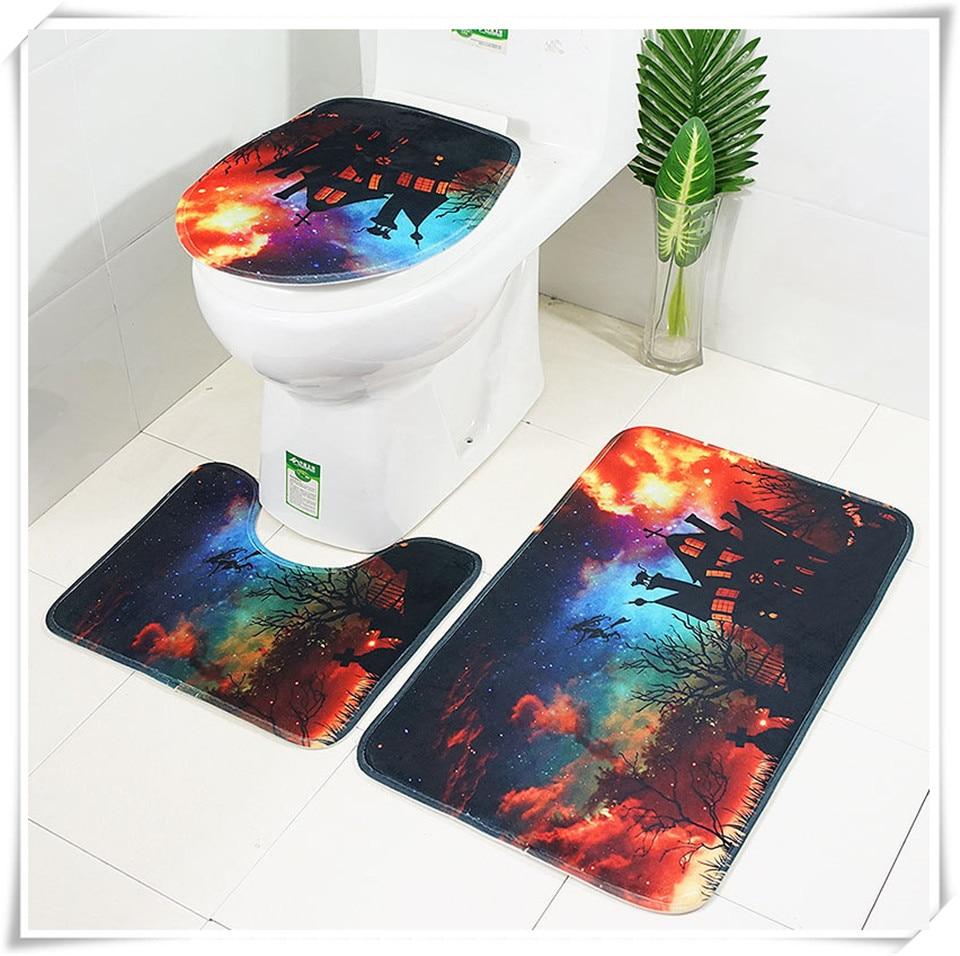 Halloween Bathroom accessories set xq13