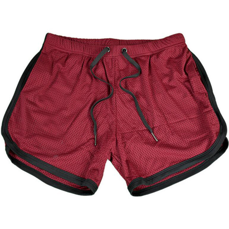 Running Shorts Men Gym Fitness Training GITF Quick Dry Beach Short Pants Male Summer Sports Workout Fitness Bottoms 12