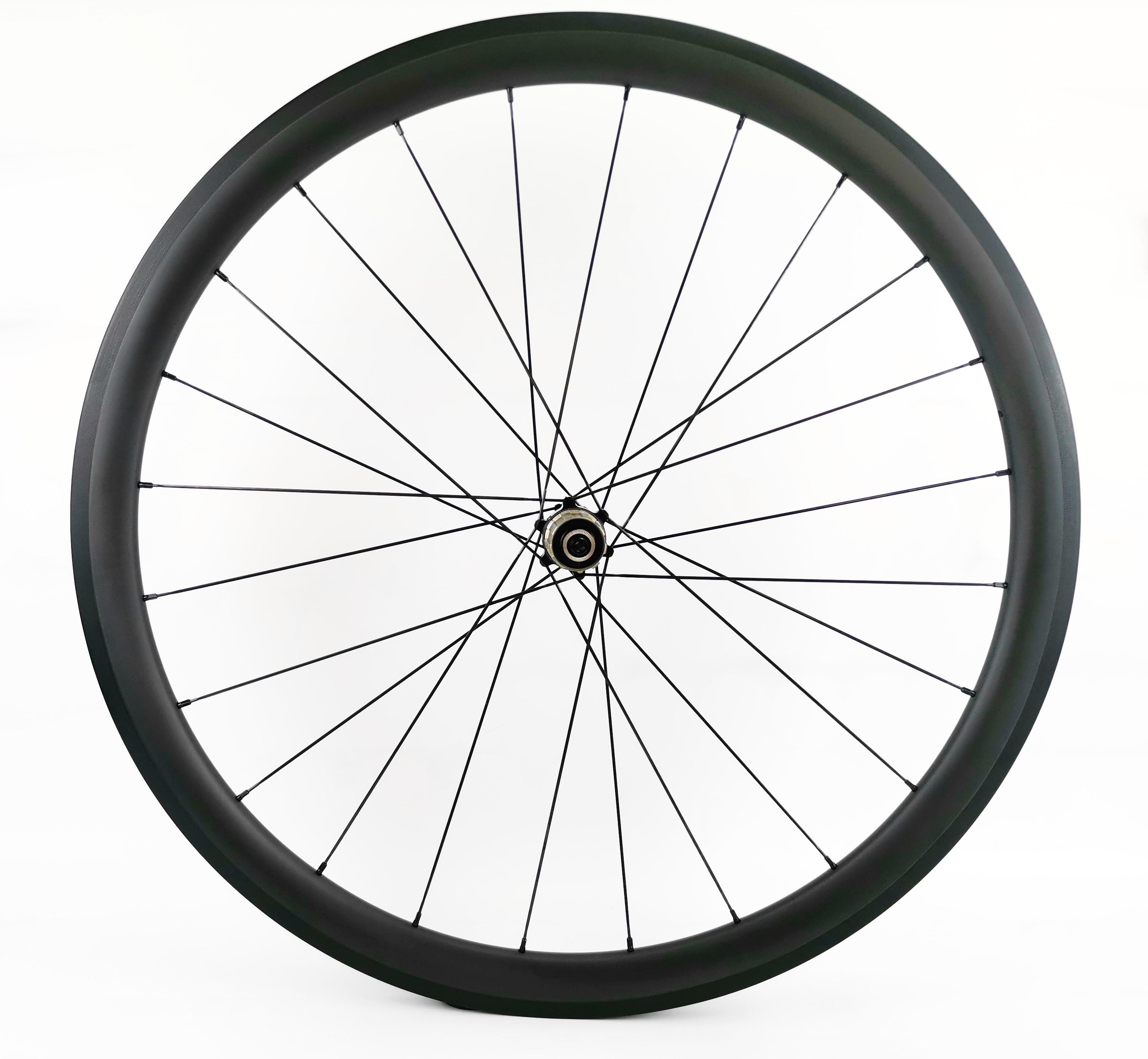 700C 16-32 Holes 50mm Tubular 3K Carbon Rim Carbon Road Bike Bicycle Single Rim