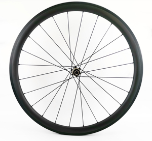 Image 3 - 700C 38mm depth road bike carbon wheels 25mm width clincher/Tubular bicycle Ultra light carbon wheelset UD matte finish