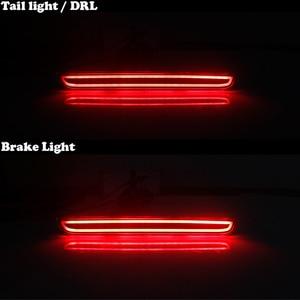 Image 5 - IJDM Kit de phare de pare choc arrière 3D, LED de Style optique, pour Dodge Challenger à 2015, fonction de feux antibrouillard arrière ou arrière
