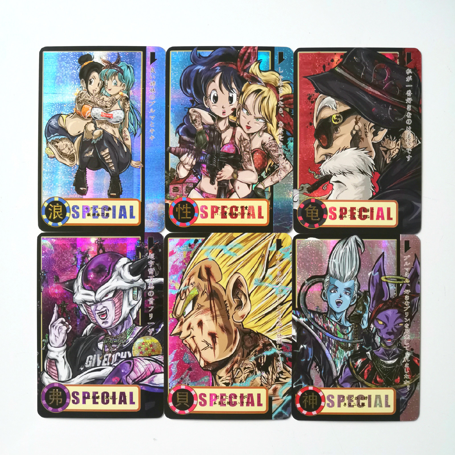 13pcs Super Dragon Ball Z Heroes Battle Card Ultra Instinct Goku Vegeta Game Collection Cards