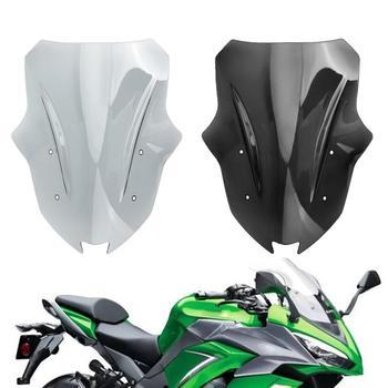Artudatech Motorcycle Windscreen Windshield For Kawasaki Ninja 1000 Z1000SX 2017-2019 Motorcycle Wind Shield Accessories
