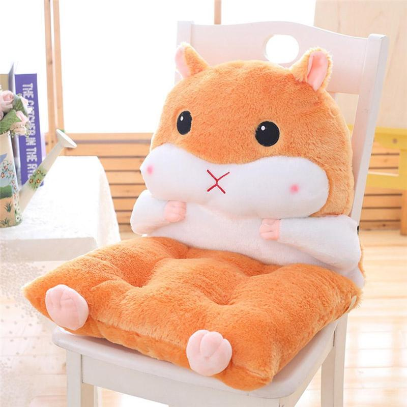 Delicate Design Hamster Decorative Pillows Skillful Manufacture Superior Quality Soft Cotton Chair Seat Cushion Back Cushion