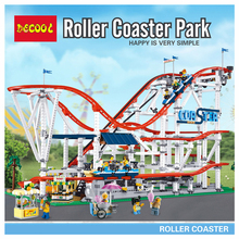 18003 CREATOR Roller Coaster Building Blocks Bricks Compatible lepinglys Educational Toys for Children birthday Gift 1125