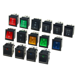 1PCS KCD4 Rocker Switch Power Switch 2Position 3Position Electrical Equipment Switch 16A 250VAC/20A 125VAC ON-OFF 31X 25mm