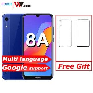 Image 1 - Nouveau arrivé Original Honor 8A 6.09 pouces MTK6765 Android 9.0 8.0MP + 13.0MP caméra 3020mAh visage déverrouillage