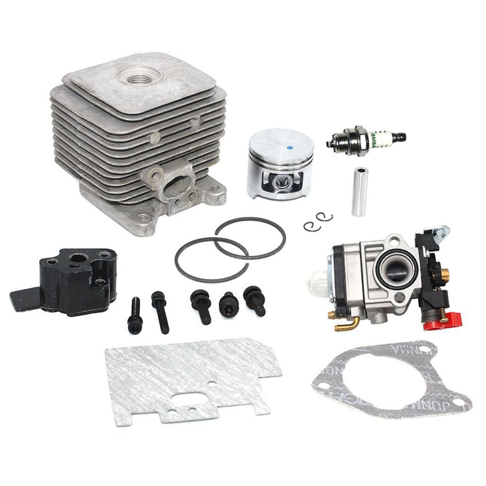 Cylinder Piston Kit For 30cc Homelite Ryobi String Trimmer Tiller Blower Backpack Blower MPN UP07146A UP07146 UP03037A 690161005