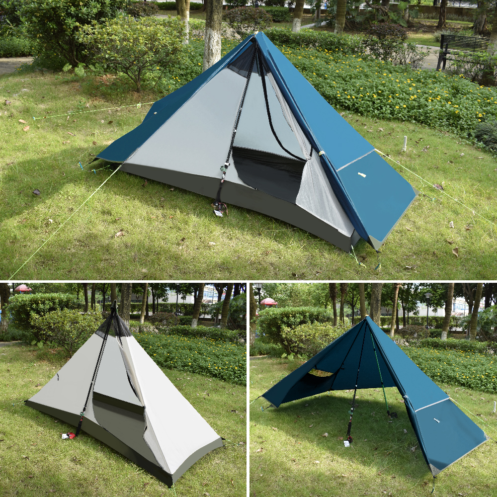 GeerTop Ultralight One Person Waterproof Camping Tents