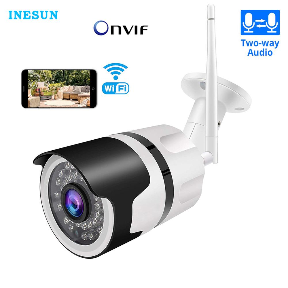 Inesun [2020 Newest] Outdoor Wireless Security Camera 1080P Waterproof WiFi IP Camera Home Bullet Camera With iOS Android App title=