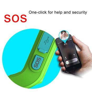 Q50 Astuto Di GPS Dei Capretti Dei Bambini Della Vigilanza SOS Di Chiamata Location Finder Bambino Locator Tracker Anti-perso Monitor Del Bambino Orologio IOS E Android