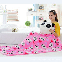 Panda Hand Dual Purpose Hand Warmer Pillow Blanket Large Size Pillow Three in One Multi Purpose Pillow And Blanket Birthday Gift