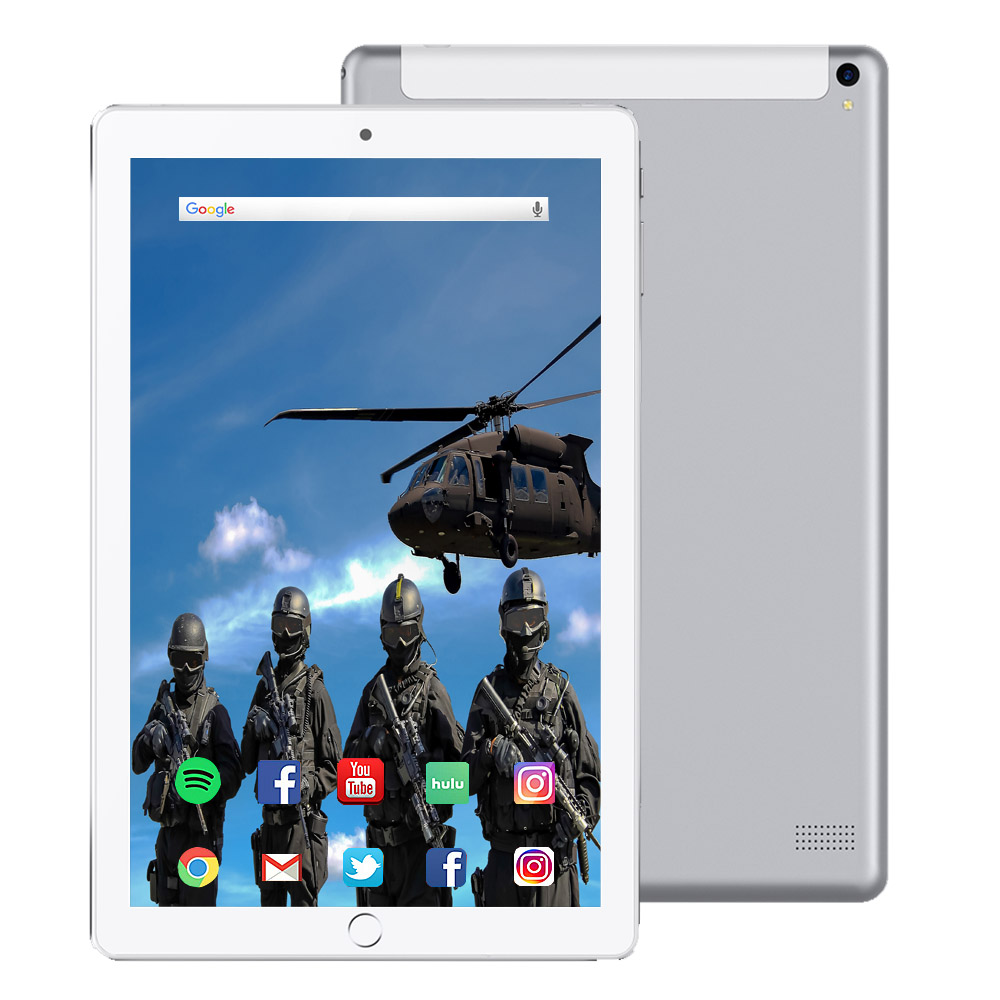 10.1 Inch Tablet Pc Quad Core Touch Tablet 2019 Tablet Android 3GB RAM 32GB ROM IPS Dual SIM Phone Call Tab Phone Pc Tablets