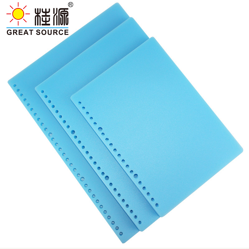 B5 Journal Cover PP Color Cover 26 Holes Binder Ring Notebook Cover Shool Office File Cover  Cover (160PCS)