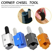 Corner Chisel Square Hinge Recesses Mortising Right Angle Knife Wood carving Chisel For Woodworking Tools