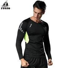 Спортивная одежда FDBRO, быстросохнущая Спортивная футболка для бега, Мужская футболка, Мужская одежда для фитнеса, баскетбола, футбола,, мужская тренировочная футболка для упражнений