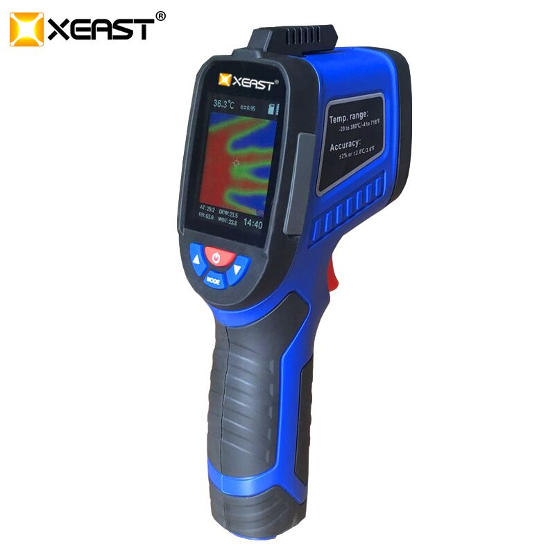 XEAST HT-19/XE-26 220x160 High-Resolution Infrared Thermal Imager with USB Interface and Built-in 4GB SD Card