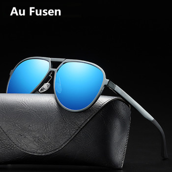 Men New Style Aluminum Magnesium Polarized Sunglasses Full Fram Driving Sun glasses With Original Glasses Case gafas de sol