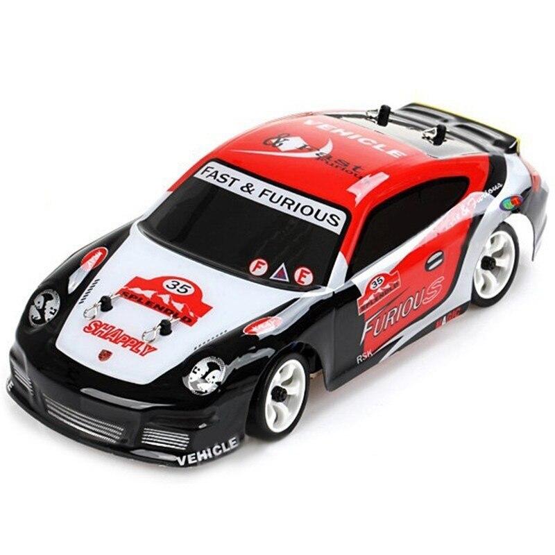 Haute qualité brossé RC voiture Wltoys K969 1/28 2.4G 4WD dérive voiture 30 KM/H haute vitesse véhicule extérieur jouets pour garçon cadeaux de noël