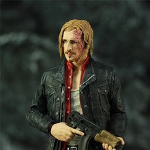"""The Walking Dead 7"""" Dwight Action Figure Statue 2017 Mcfarlane AMC TV Color Top Series Collectible Toys Doll"""