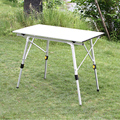 Folding Camping Table Aluminum Alloy Outdoor Tables Portable Durable Barbecue Desk Outdoors Furniture Lightweight