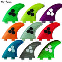 G5 Quillas quilles en fibre de verre planches de Surf propulseurs gouvernail palmes de surf Fcs aileron G5 3 pièces planche de Surf queue aletas planche de surf palmes T $