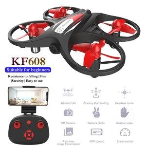 KF608 Mini Drone With Camera H