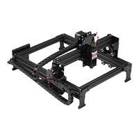 29*22cm Mini 7/20W CNC Laser Engraving Machine 2Axis DIY Engraver Desktop Wood Router/Cutter/Printer Off line Location Operation