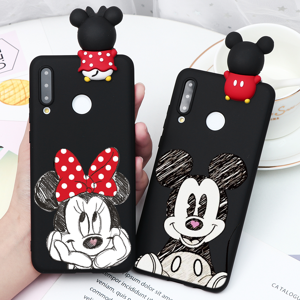 Cartoon Matte Soft TPU Case For <font><b>Huawei</b></font> Mate 10 20 Lite Y9 <font><b>Y7</b></font> Y6 Pro <font><b>Prime</b></font> <font><b>2019</b></font> 2018 Nova 2 Lite 3 3i 5 Pro <font><b>Back</b></font> <font><b>Cover</b></font> Case Capas image