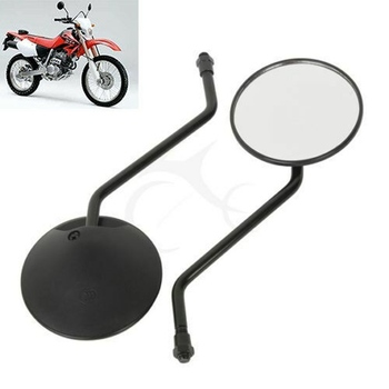 Motorcycle 10mm Rear View Mirror For Honda XR80 230 TLR200 XR200 125 CT110 CG125 XL250 400