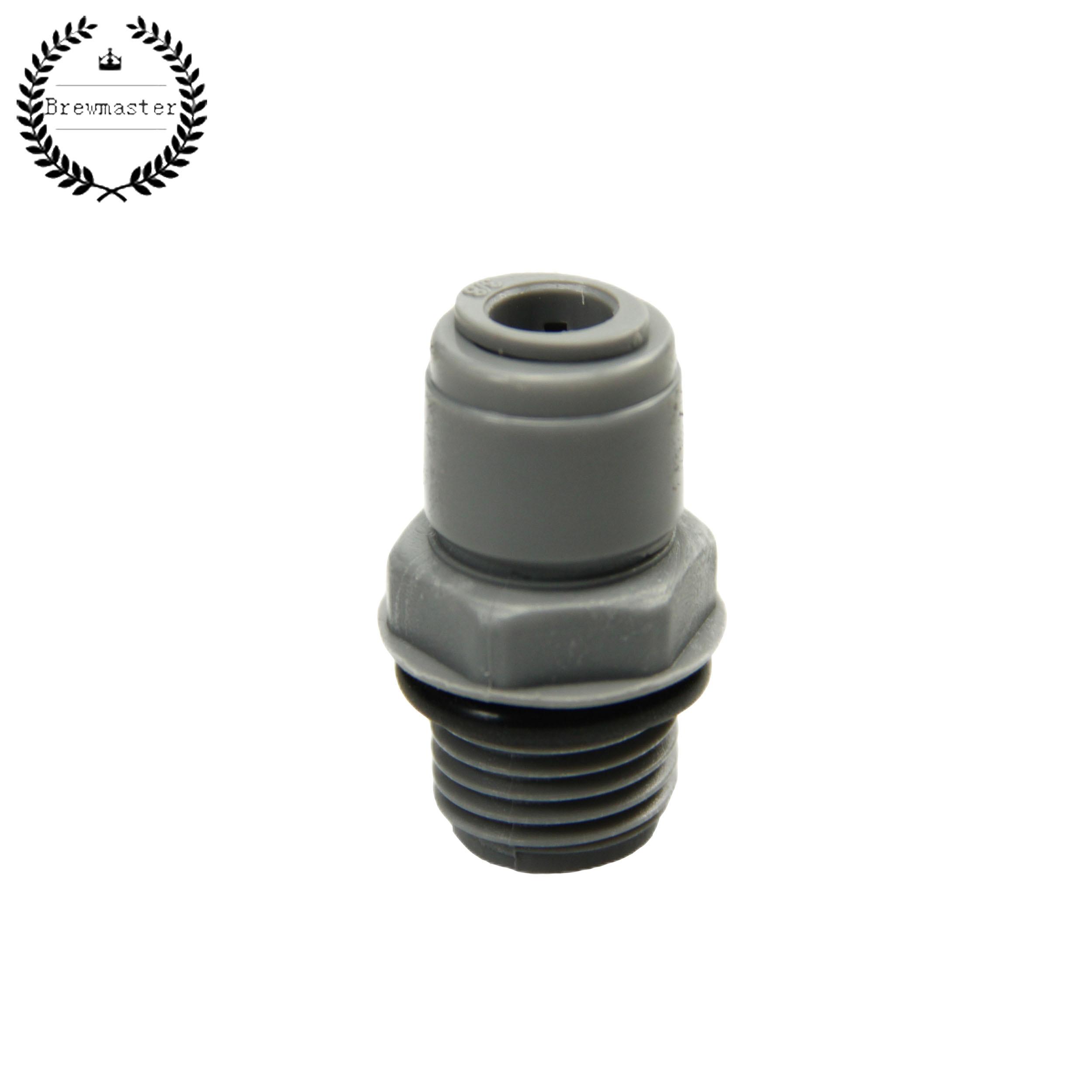 Duotight-9.5mm(3/8) Bulkhead-1/2inch