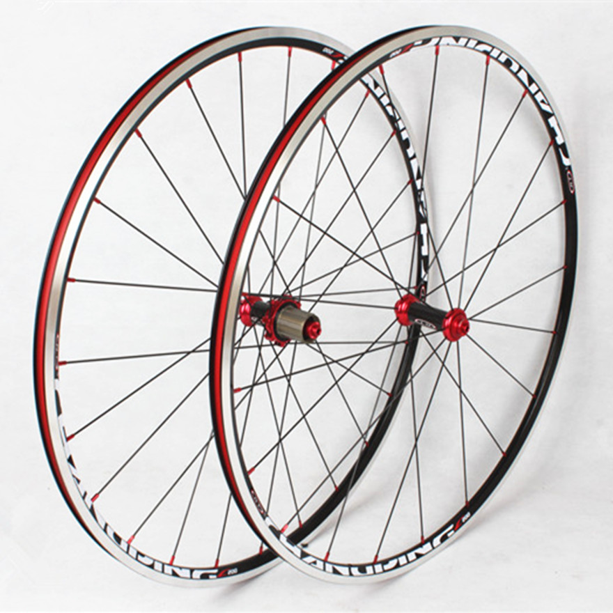 <font><b>RT</b></font> C200 Road Bike Bicycle 700C Carbon Fiber 6 Claws Wheel <font><b>Wheelset</b></font> Rim 11 Speed 1600g image