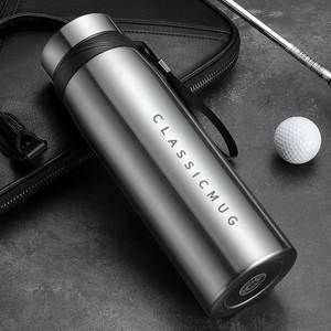 Travel-Mug Vacuum-Flask Coffee Stainless-Steel Sport Double Large-Capacity 1100ml/650ml