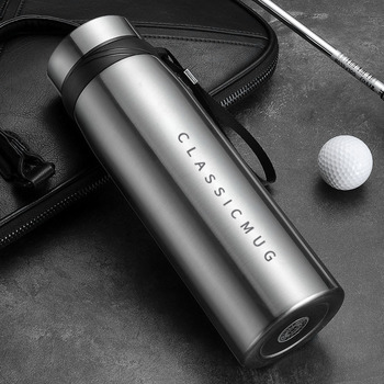 1500m/1100ml/650ml Portable Double Stainless Steel Vacuum Flask Coffee Tea Thermos Mug Sport Travel Mug Large Capacity Thermocup