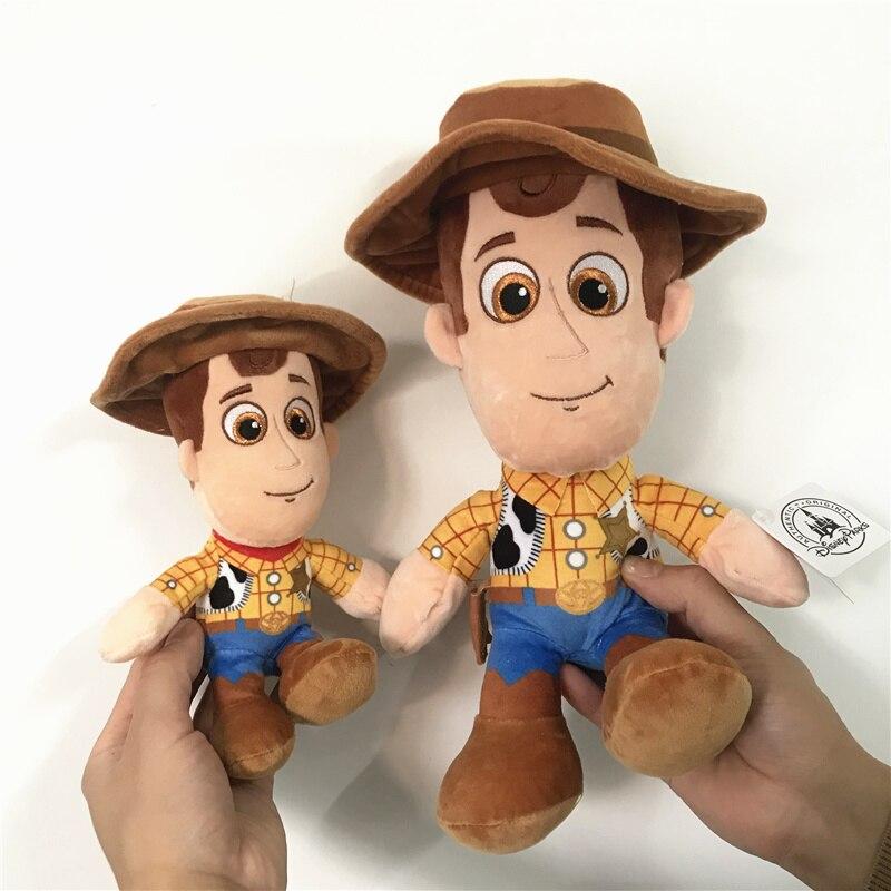 1piece Toy Story 4  Woody Buzz Lightyear's Friend Woody Stuffed Dolls Best Gift For Kids