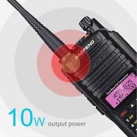 "baofeng uv 2020 10W Baofeng UV-9R פלוס Waterproof מכשיר הקשר UV 9R פלוס Dual Band Ham CB ניידת רדיו 10 ק""מ HF משדר משדר (2)"