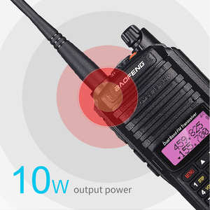 Image 2 - 2020 10W Baofeng UV 9R plus Waterproof Walkie Talkie UV 9R Plus Dual Band Portable CB Ham Radio 10KM hf transceiver Transmitter