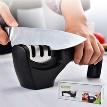 New manual fast knife sharpener Home fixed angle whetstone Diamond portable kitchen gadget
