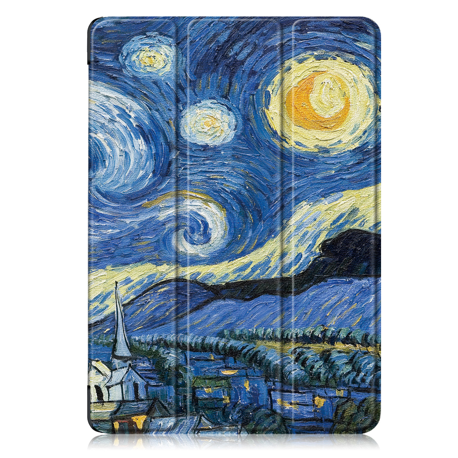 Landscapes Other Tablet Case Funda For IPad 10 2 Inch 2020 with Pencil Holder Magnetic Folding Stand Smart