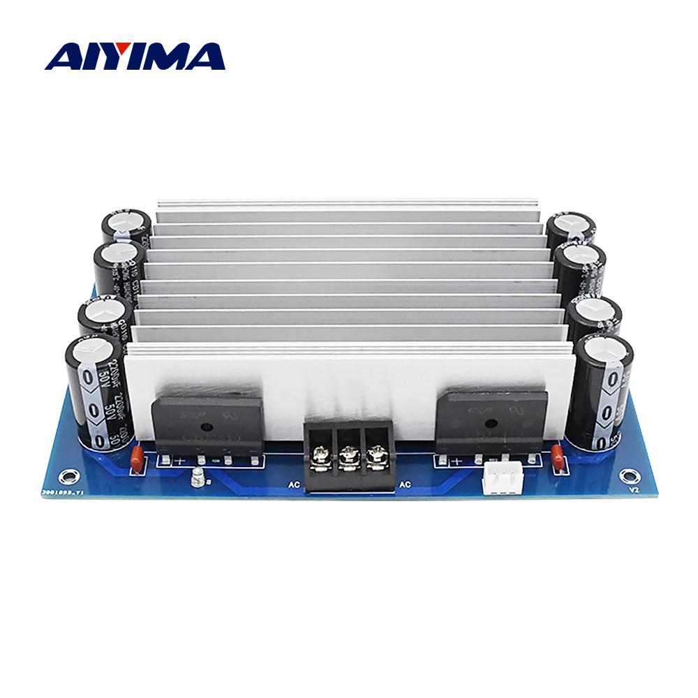 AIYIMA TDA7293 Power Verstärker Bord 100Wx2 2,0 Kanal Sound Verstärker Stereo Home Audio Amp Für Lautsprecher Heimkino DIY