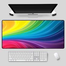 XGZ Large size mouse pad colorful pattern series table mat high quality home non-slip waterproof keyboard