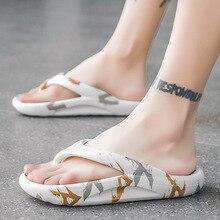WEH flip flops men designer luxury 2021 fashion outdoor Slippers Women EVA Non-slip Slippers men slippers Summer Shoes white