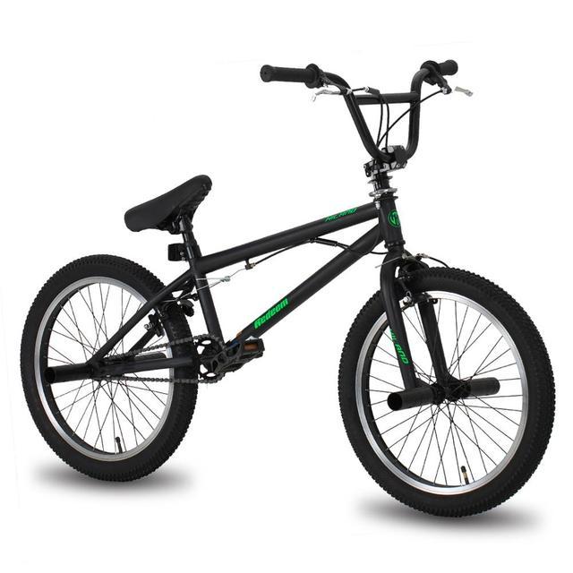 HILAND 10 Color&Series 20'' BMX Bike Freestyle Steel Bicycle Bike Double Caliper Brake Show Bike Stunt Acrobatic Bike 1
