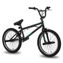 Hiland paquímetro de freio, 10 cores & série 20 ''bmx bicicleta de aço, bicicleta, com paquímetro duplo, show de freio, dublê, acroubático bicicleta bicicleta